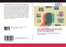 Capa do livro de La semiótica en el cine y en la web 2.0