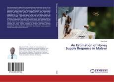 An Estimation of Honey Supply Response in Malawi kitap kapağı