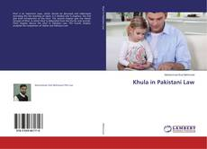 Bookcover of Khula in Pakistani Law