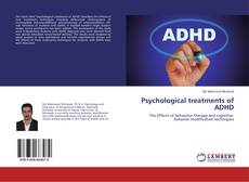 Couverture de Psychological treatments of ADHD
