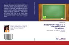 Bookcover of Exocentric Compounds in Southern African Newspapers