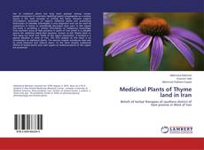 Bookcover of Medicinal Plants of Thyme land in Iran