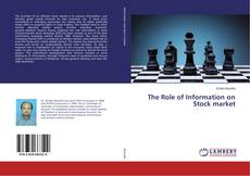 Bookcover of The Role of Information on Stock market