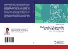 Capa do livro de Multimedia Technology for Sanskrit Heritage Texts