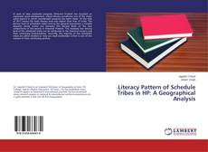 Capa do livro de Literacy Pattern of Schedule Tribes in HP: A Geographical Analysis