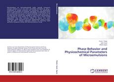 Capa do livro de Phase Behavior and Physicochemical Parameters of Microemulsions