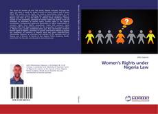 Bookcover of Women's Rights under Nigeria Law