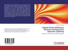 Capa do livro de Hybrid Finite Difference Schemes Arising From Operator Splitting