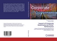 Capa do livro de Impact of Corporate Governance on Firms' Performance