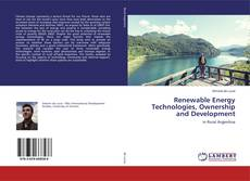 Bookcover of Renewable Energy Technologies, Ownership and Development