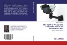 Buchcover von The Right to Privacy and Data Protection in the Information Age: