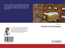 Bookcover of Database Technologies
