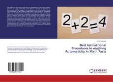 Best Instructional Procedures in reaching Automaticity in Math Facts的封面