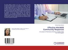 Bookcover of Effective HIV/AIDS Community Responses
