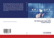 Portada del libro de Do Malaysian Spin-Offs Create Value?