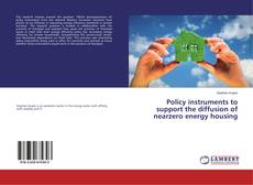 Обложка Policy instruments to support the diffusion of nearzero energy housing