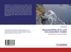 Borítókép a  Bioaccessibility of Cu and risk assessment models - hoz