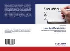 Обложка Procedural Public Policy