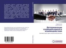 Обложка Детерминация социорекламного взаимодействия