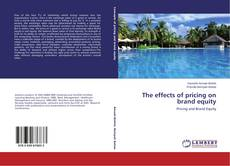 The effects of pricing on brand equity kitap kapağı
