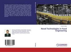 Portada del libro de Novel Technologies in Food Engineering