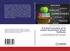 A Critical Evaluation of Sri Lankan Government School Textbooks的封面