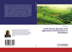 Portada del libro de Land Tenure Security and Agriculture Performance in Zimbabwe