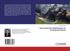 Buchcover von Groundwater Exploration In Carbonate Rocks