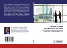 Bookcover of Effective Project Management In India