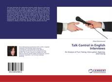 Buchcover von Talk Control in English Interviews