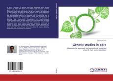 Bookcover of Genetic studies in okra