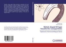 Capa do livro de Metals doped W-type hexaferrite nanoparticles