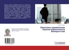 Bookcover of Практика применения оценки вероятности банкротства