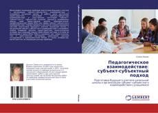 Педагогическое взаимодействие: субъект-субъектный подход kitap kapağı