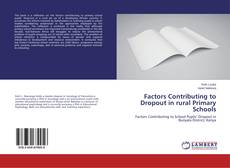 Buchcover von Factors Contributing to Dropout in rural Primary Schools