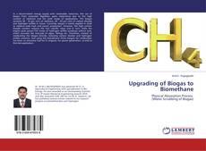 Portada del libro de Upgrading of Biogas to Biomethane