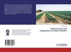 Buchcover von Performance and Integration of Onion Market