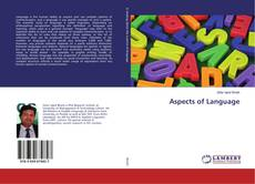 Bookcover of Aspects of Language