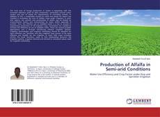 Buchcover von Production of Alfalfa in Semi-arid Conditions