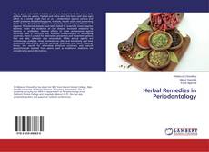 Couverture de Herbal Remedies in Periodontology