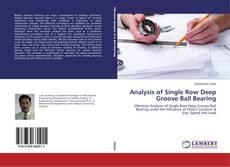 Portada del libro de Analysis of Single Row Deep Groove Ball Bearing