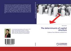 The determinants of capital structure kitap kapağı