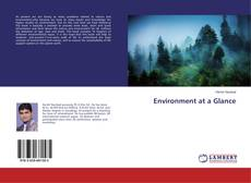 Couverture de Environment at a Glance