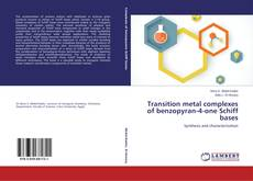 Portada del libro de Transition metal complexes of benzopyran-4-one Schiff bases