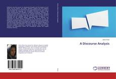 Bookcover of A Discourse Analysis