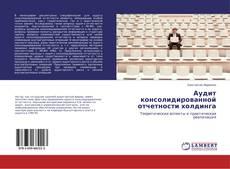 Capa do livro de Аудит консолидированной отчетности холдинга