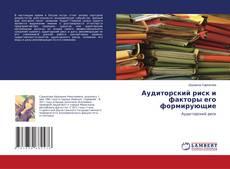 Buchcover von Аудиторский риск и факторы его формирующие