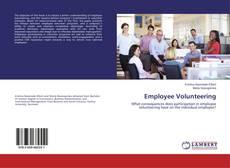 Bookcover of Employee Volunteering