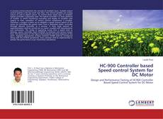 Bookcover of HC-900 Controller based Speed control System for DC Motor