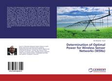 Capa do livro de Determination of Optimal Power for Wireless Sensor Networks (WSNs)